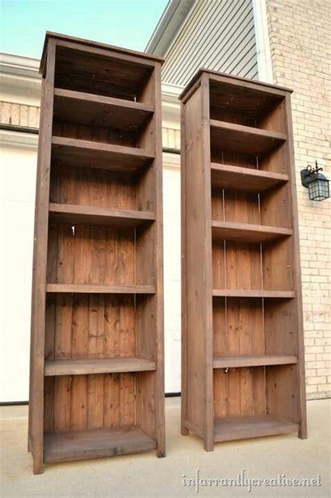 basic primitive diy bookshelves love them for the