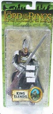 Toybiz Lord Of The Rings King Elendil Figure lord of the rings king elendil jan 2005 figure by biz