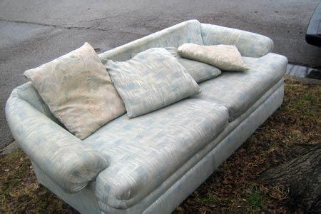 getting rid of a sofa colorado couch disposal get rid of your old sofa junk