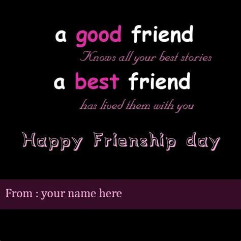 happy friendship day wishes   friend