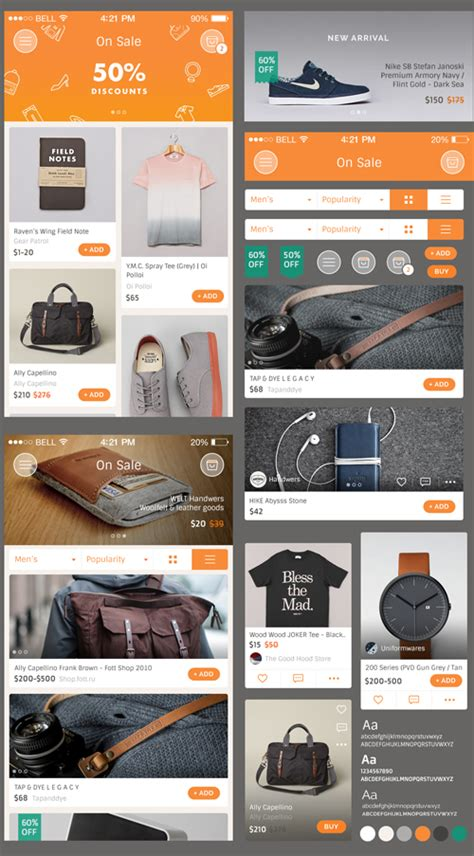 ecommerce app ui free psd download download psd 30 photoshop psd files for graphic designers free