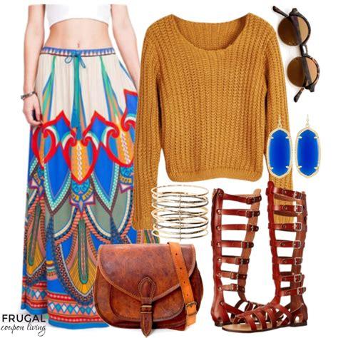 Promo Boho Chic frugal fashion friday chic boho