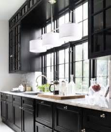 black kitchen cabinets pictures 1000 ideas about dark kitchen cabinets on pinterest