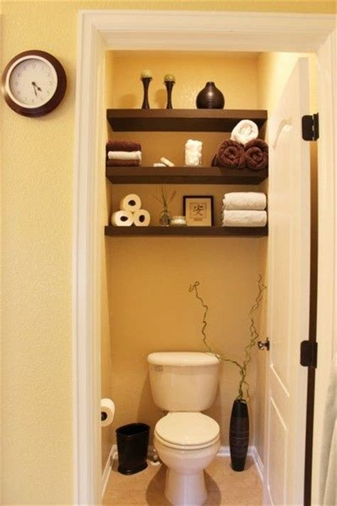 Small Bathroom Storage Shelves Cloakroom Bathroom Ideas