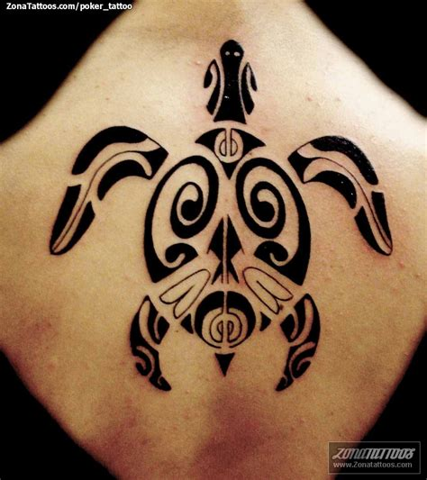 tribal tattoos turtle black ink tribal turtle on back