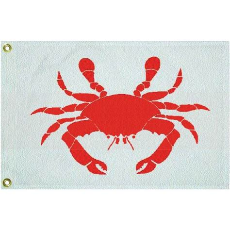 boat novelty flags taylor made novelty crab flag west marine