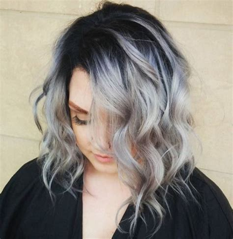black at root of hair gray hair with black roots google search hair makeup
