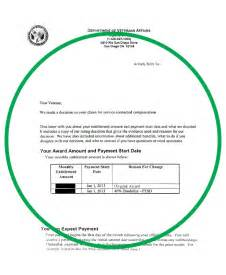 Award Letter Of Benefits Statement Usgs Store