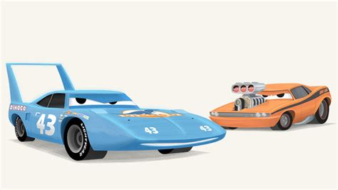 The Cars Snot Rod cars the king and snot rod by riddsorensen on deviantart