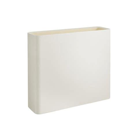 vasi bianchi da interno vasi bianchi rettangolari da esterno