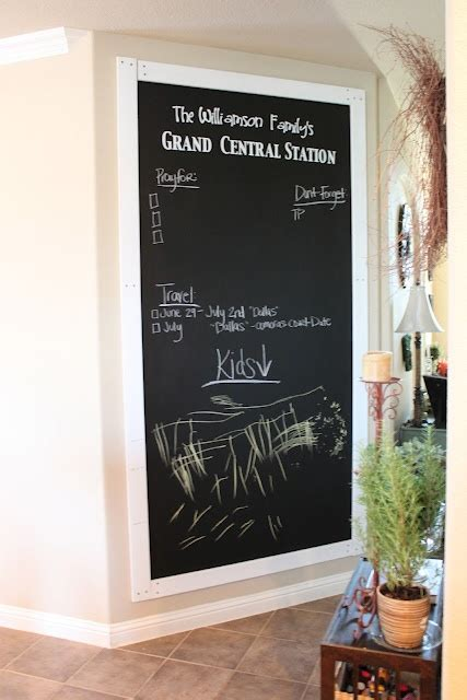 chalkboard paint on plywood chalkboard wall using plywood instead of painting right