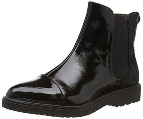 tamaris cloris chelsea boots schwarz  lack optik