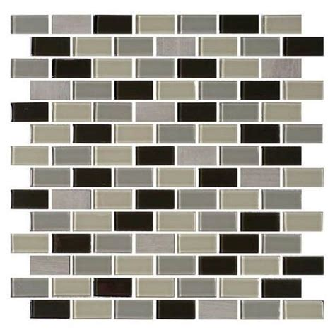 1 x 2 brick joint floor tile buy daltile mosaic traditions tile evening sky 3 4 x 1 1 2