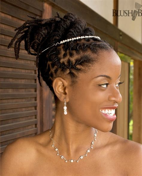 african hair dreadlock styles black dreadlocks updo for wedding thirstyroots com