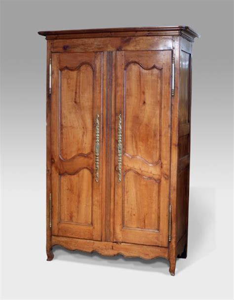 armoire cherry wood louis xv french cherry wood armoire 285597