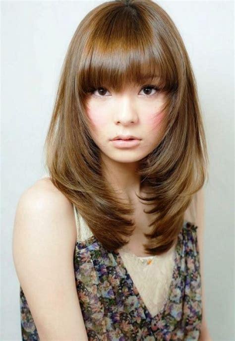 variasi model rambut sebahu wanita trend  balubu