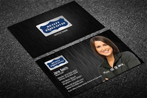 realty executives business cards templates realty executives business card templates designed for