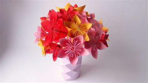 making origami flower bouquet des pailles du papier un magnifique bouquet origami