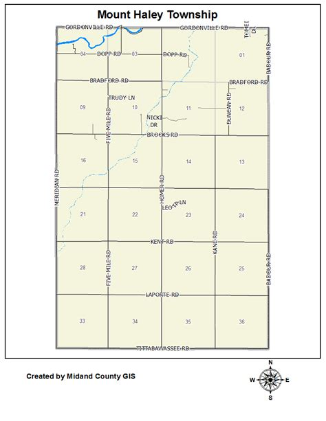 Midland County Records County Of Midland Michigan Gt Equalization Gt Tax Maps Gt Mount Township