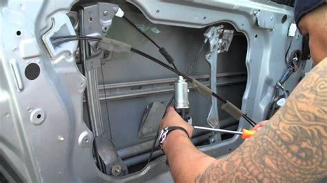 how to replace 1993 infiniti g rear door actuator diy replace infiniti g35 coupe window motor part 2 youtube