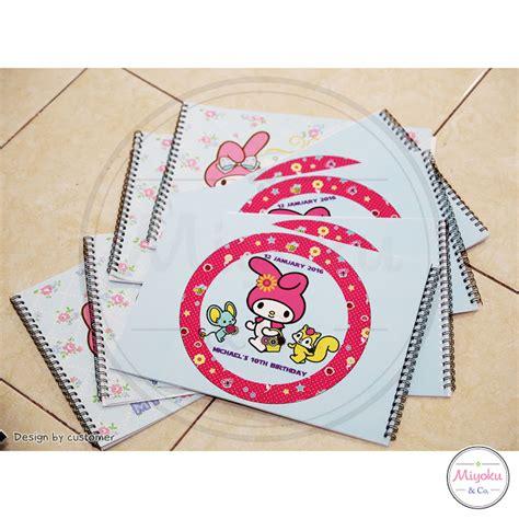 Buku Tamu Daur Ulang miyoku buku tamu personalized souvenir jakarta barat