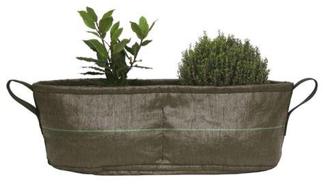 portable herb garden bacsac side by side flexible pot portable herb garden