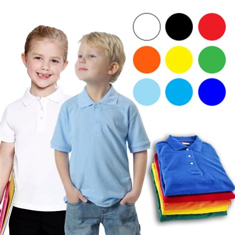 Kaos Anak Shirt Kid The Kid basic collar shirt kaos kerah anak 0 6 tahun elevenia