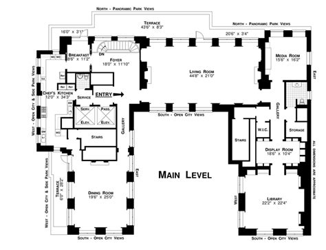 woolworth mansion floor plan new york city apartment floor plans