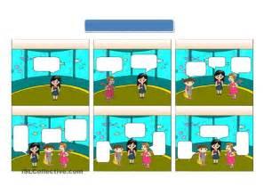 Blank comic worksheet free esl printable worksheets made by teachers