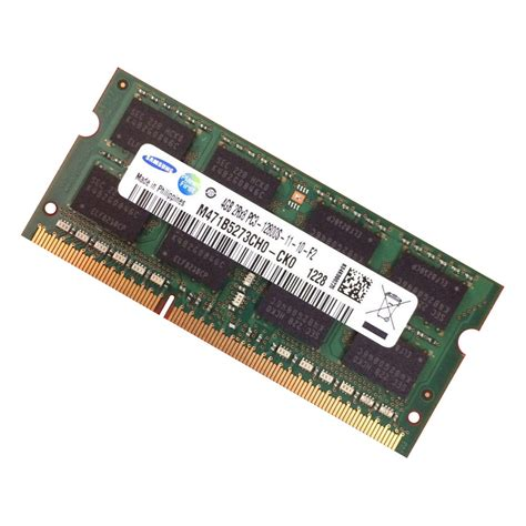 Ram 4gb Ddr3 Sdram Samsung 4gb Ddr3 Pc3 12800 1600mhz Laptop Macbook Imac Memory Mt16ktf51264hz