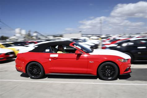 2015 mustangs in dealers autos post