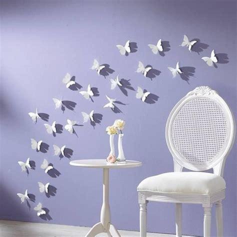 Jual Wallpaper Purple Dandelion Am7010 Stiker Dinding Wall handmade butterflies decorations on walls paper craft ideas