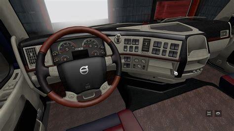 interior volvo fh classic  ets euro truck simulator  mods