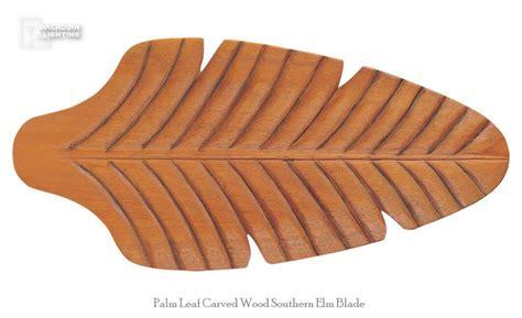 elm ceiling fan monte carlo fan vc5b12 palm leaf 52 quot carved wood southern