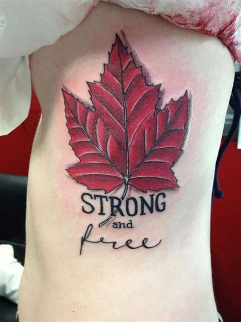 canadian tattoos best 25 canadian ideas on maple leaf