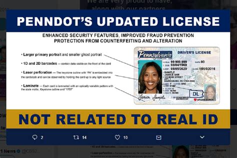 pa license pennsylvania launches redesign driver s license that is not real id compliant