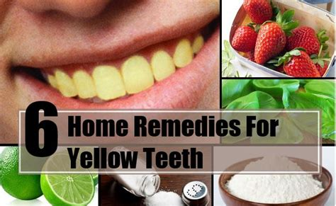 6 amazing home remedies for yellow teeth