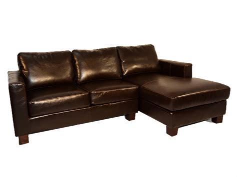 leather chaise sofa leather sectional with chaise