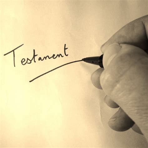Modele Testament Pacs