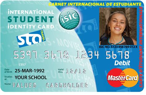 miami student card template an exle of the isic id card image courtesy of sta