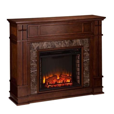 southern enterprises highgate electric media fireplace in