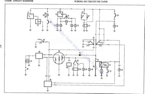 yamaha mate v50 wiring diagram wiring diagram and schematic