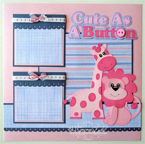 scrapbook templates baby 2202 best images about scrapbooking baby on pinterest