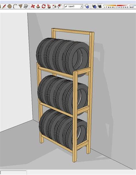 25 unique tire rack ideas on diy garage