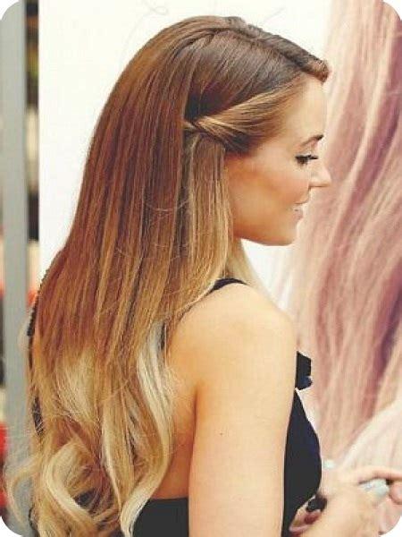 peinados de fiesta para pelo no tan largo para ver imagenes de peinado facil para cabello largo