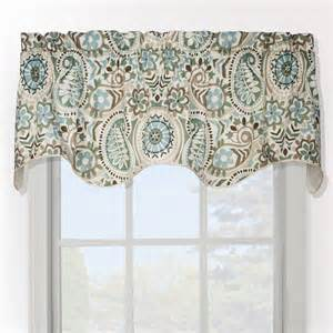 Curtains Overstock Paisley Prism Duchess Filler Valance Contemporary