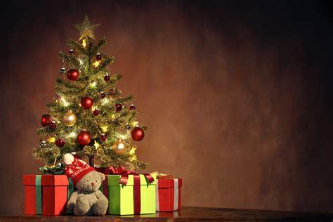 merry christmas new year christmas tree christmas