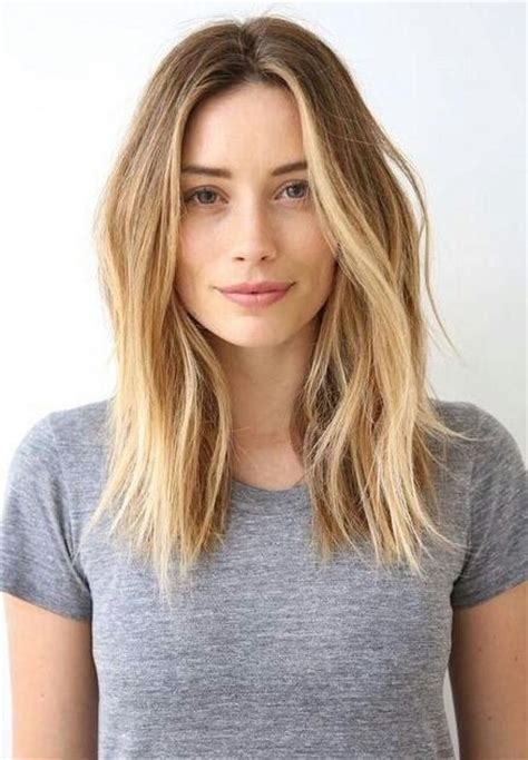 15 best of long hairstyles parted in the middle