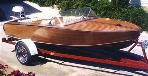 Wooden Boat Outboard Plans