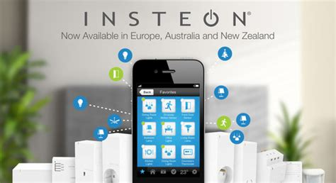 insteon home automation products now available in europe